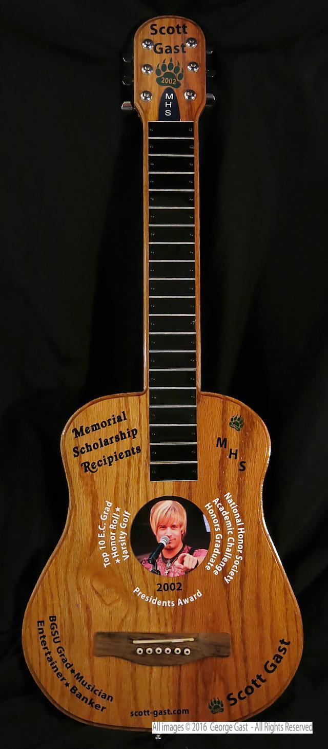 Scott Gast Scholarship Guitar