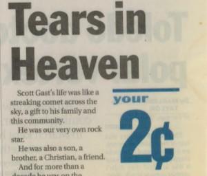 Tears In heaven article