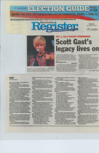 Scott Gast's Legacy Lives On