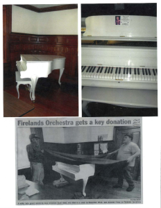 Firelands Orchestra Gets A Key Donation