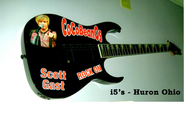 Scott Gast - i5s memorial guitar