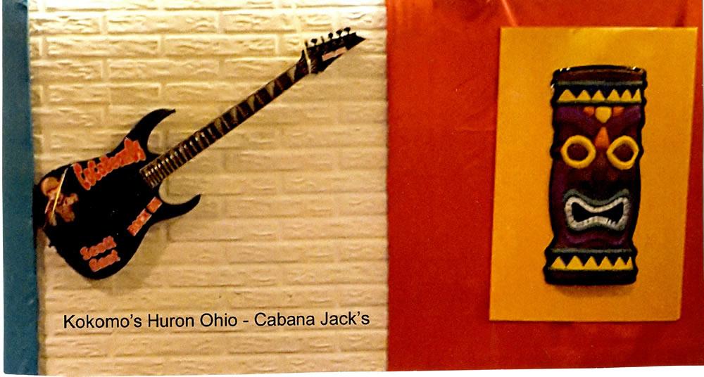 kokomos memorial guitar
