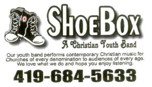 SCOTT GAST shoe box business card
