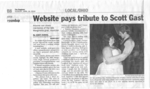 Website pays tribute to Scott Gast