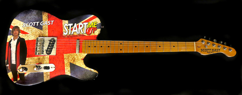 Start Me Up Tribute Guitar