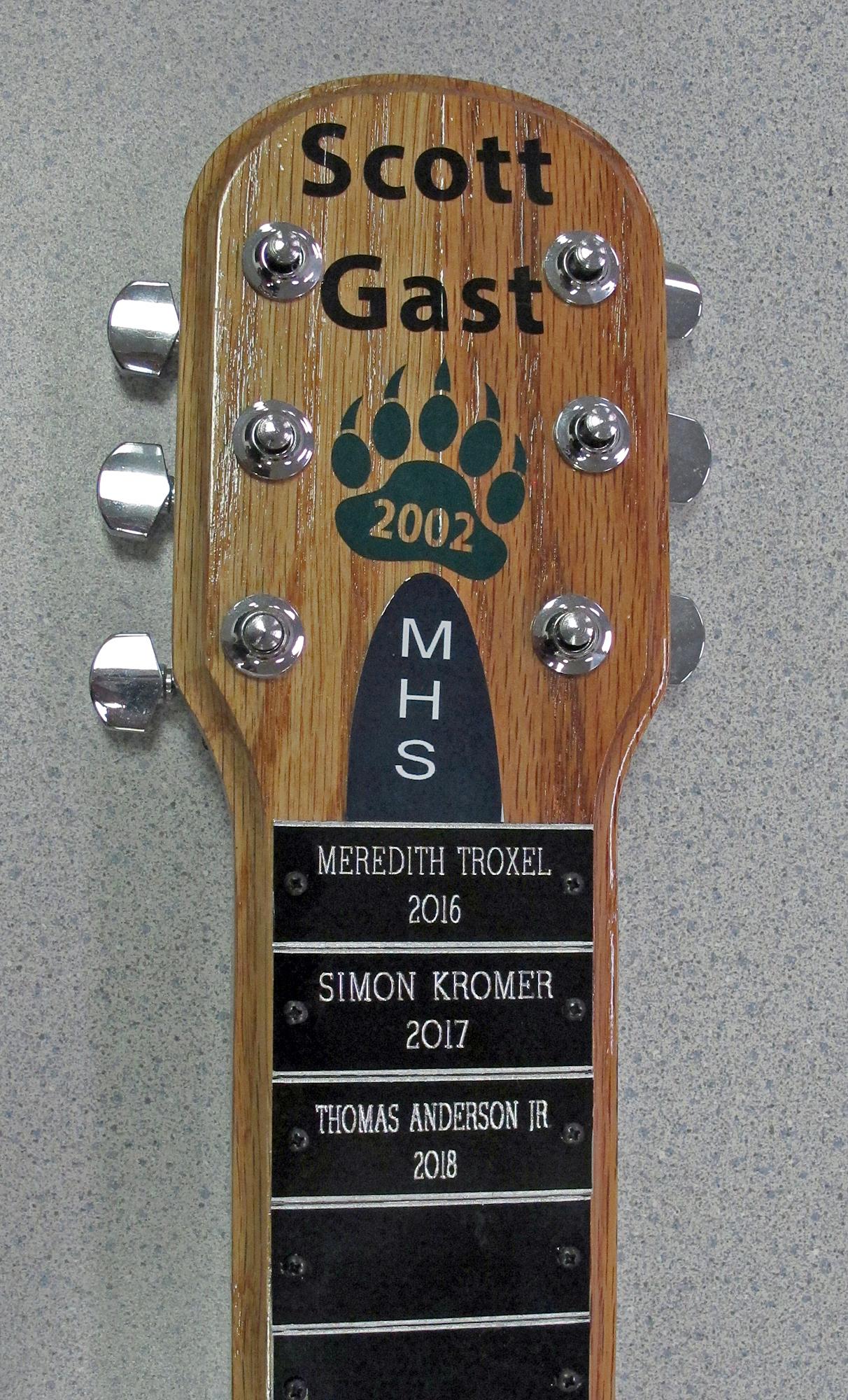 Scholarship Guitar